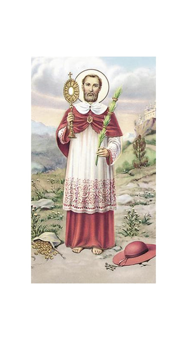 100-Pack - Saint Ramon Nonato Holy Card