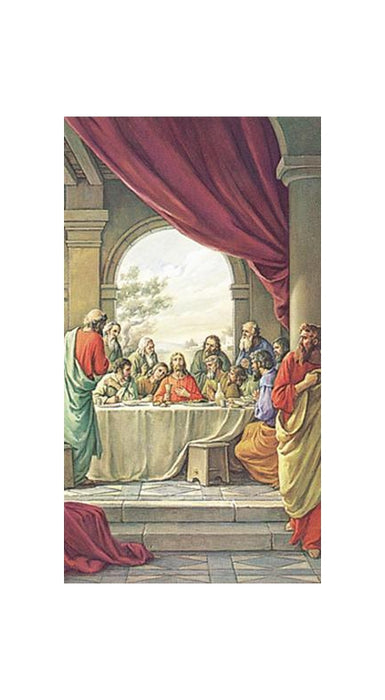 100-Pack - The Last Supper Holy Card