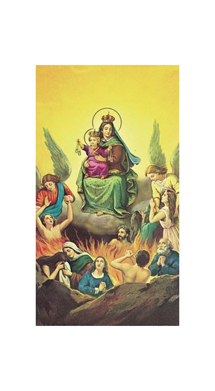 100-Pack - N.S. Del Carmen Holy Card