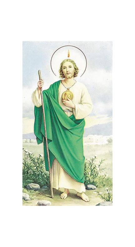 100-Pack - Saint Jude Holy Card
