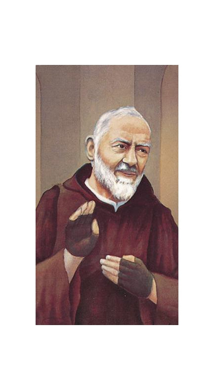 100-Pack - Saint Pio Holy Card