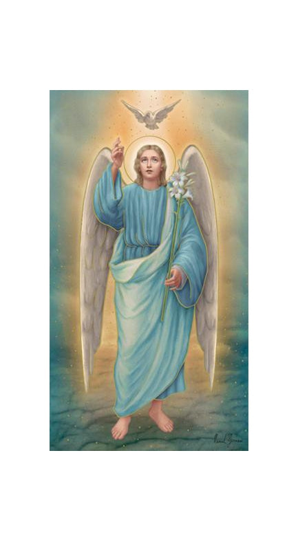 100-Pack - Saint Gabriel Holy Cards