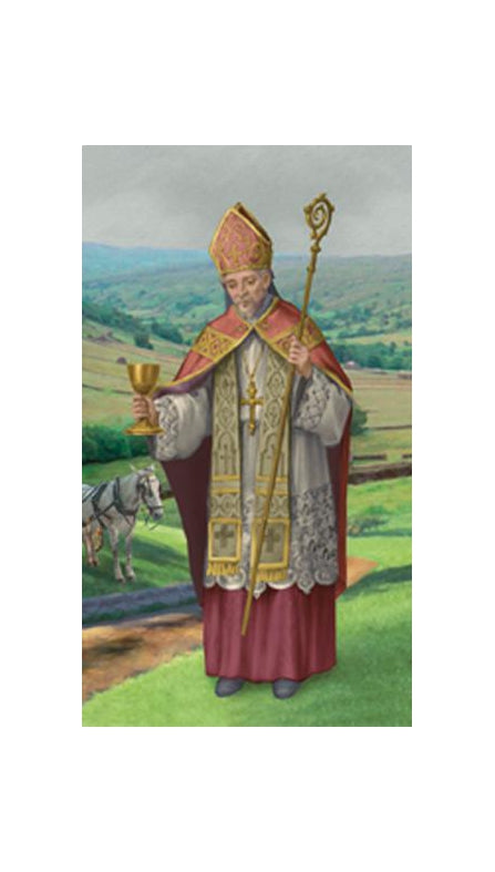 100-Pack - Saint Richard Holy Card