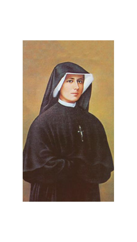 100-Pack - Saint Faustina Holy Card