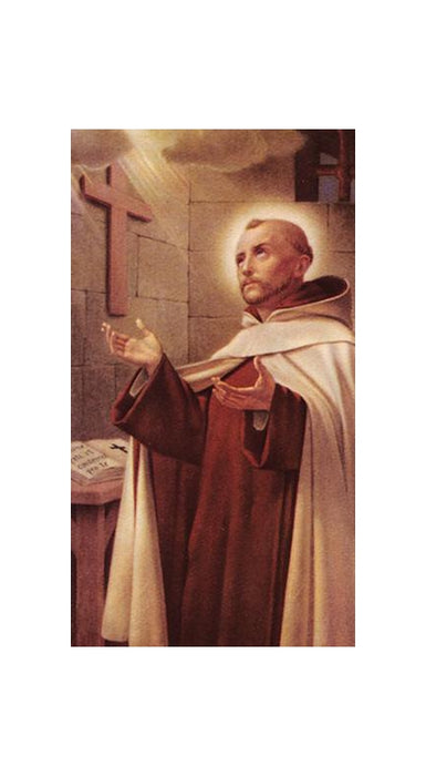 100-Pack - Saint John Of The Cross Holy Card