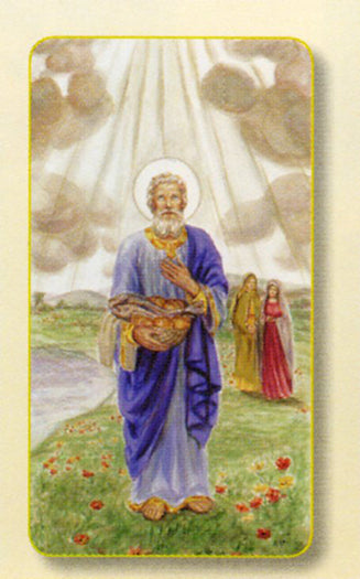 100-Pack - Amm. Saint Phillip Holy Card
