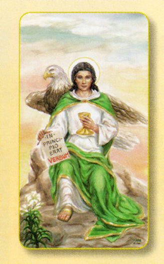 100-Pack - Amm. Saint John The Evangelist Holy Card