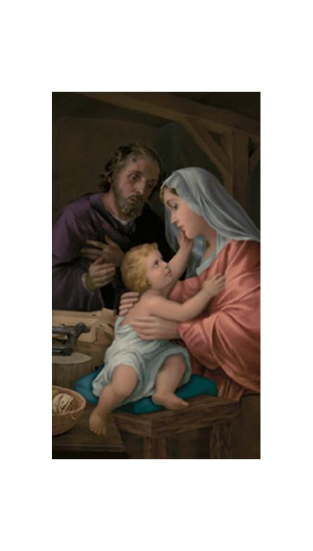 100-Pack - Holy Family Holy Card