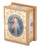 Divine Mercy 2X2.75-inch Natural Wood Rectangular Rosary Box