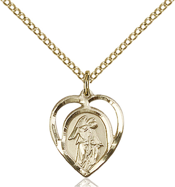 Gold-Filled Guardian Angel, Angel Jewelry Necklace Set