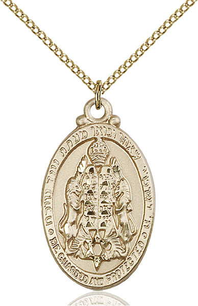 Gold-Filled Jewish Protection Necklace Set