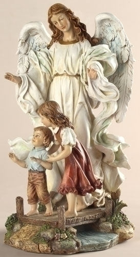 10-inch Classic Guardian Angel Statue