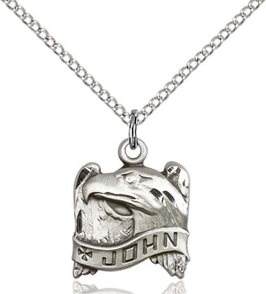 Sterling Silver Saint John Necklace Set