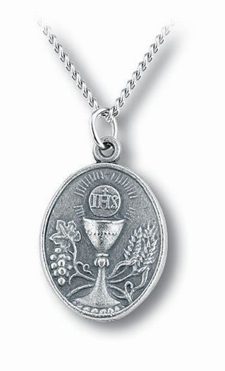Communion Medal On Chain Boxed