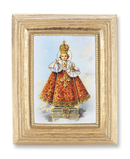 3 3/4-inchX4 1/2-inch Gold Frame Infant Of Prague 2.5X3.5-inchPrint