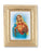 3 3/4-inchX4 1/2-inch Gold Frame Mary Immaculate Heart 2.5X3.5-inchPrint