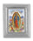 3 3/4-inchX4 1/2-inch Silver Frame Our Lady Of Guadalupe 2.5X3.5-inchPrint