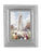 3 3/4-inchX4 1/2-inch Silver Frame Our Lady Of Fatima 2.5X3.5-inchPrint