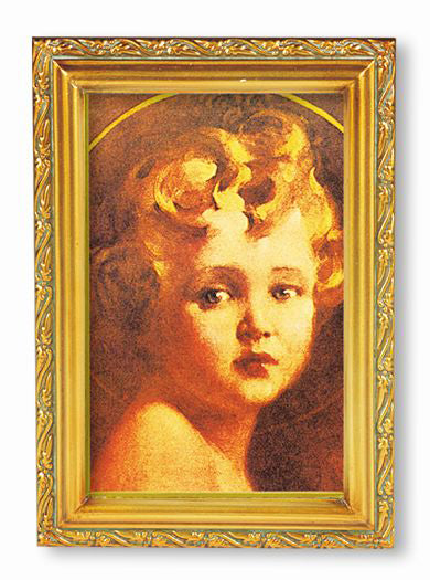 Light Of World Wood Tone Frame 4 1/2 X 6 1/2