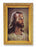 Head Of Christ Wood Tone Frame 4 1/2 X 6 1/2