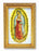 Our Lady Guadalupe Wood Tone Frame 4 1/2 X 6 1/2