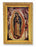 Our Lady of Guadalupe Wood Tone Frame 4 1/2 X 6 1/2