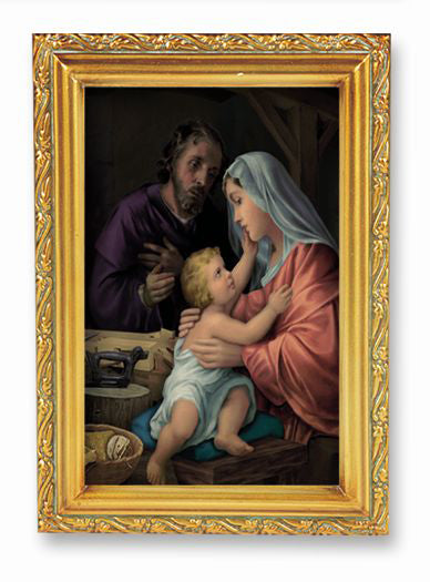 Simeone Holy Family Wd Tn Frame 4 1/2 X 6 1/2