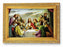 Last Supper Wood Tone Frame 4 1/2 X 6 1/2