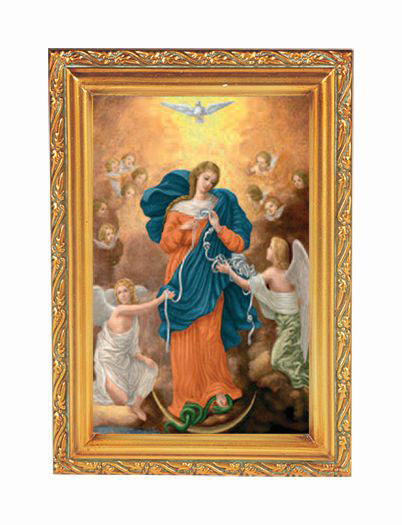 Our Lady Untier Of Knots Frame 4 1/2 X 6 1/2