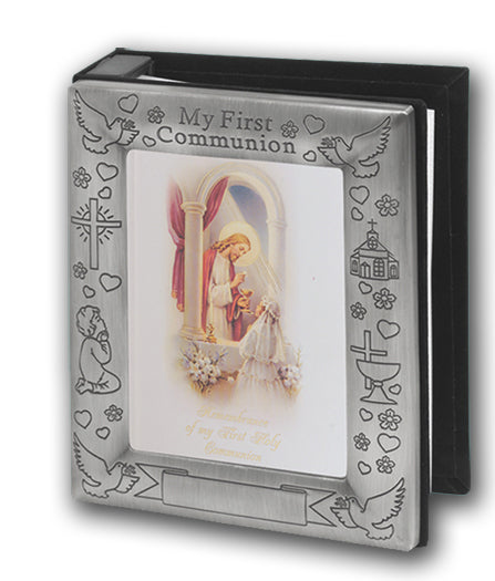 Pewter Finish Photo Album 4 X 6 Holds 72 Photos