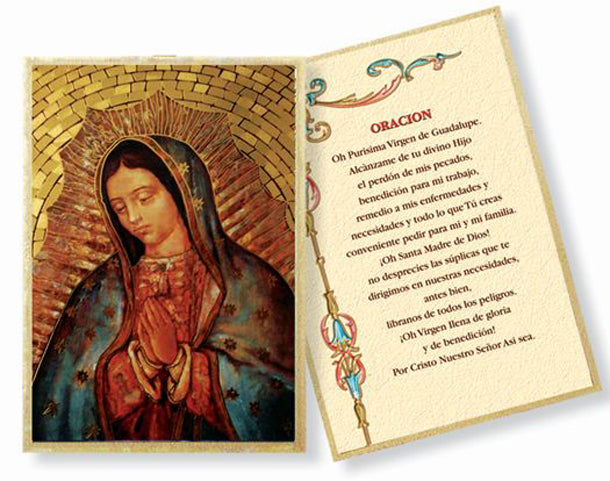 Our Lady Of Guadalupe Mosaic Plaque
