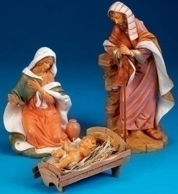 3Pc Saint 18-inch Holy Family Figurineures