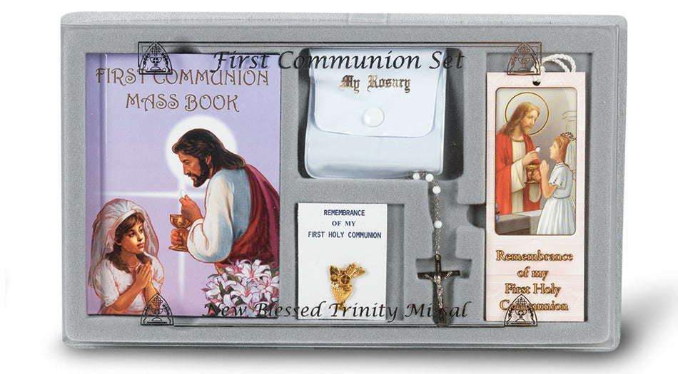 Girl First Communion Set