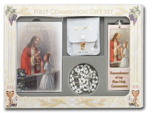 Girl Communion Set Little Child Of God
