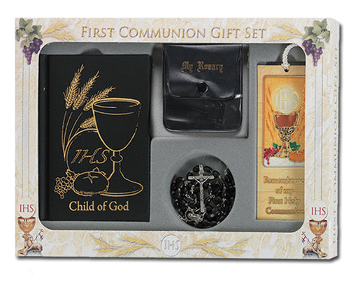 Boy Child Of God Communion Set Boxed