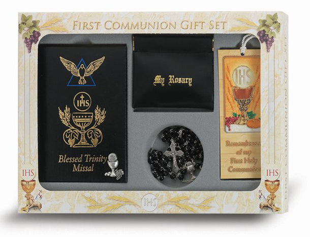 Blessed Trinity Missal with Symbol Communion Set