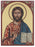Christ Teacher Small Gold Embossed Plaque