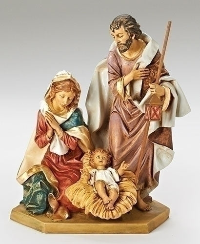 27-inch Holy Family Figurineure