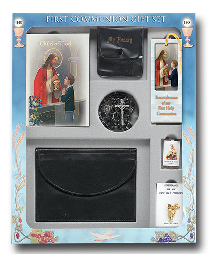 Boys Deluxe Communion Set