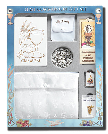 Girls Delux Communion Set Boxed