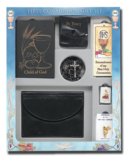 Boys Deluxe Communion Set Boxed