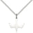 Sterling Silver Holy Spirit Necklace Set