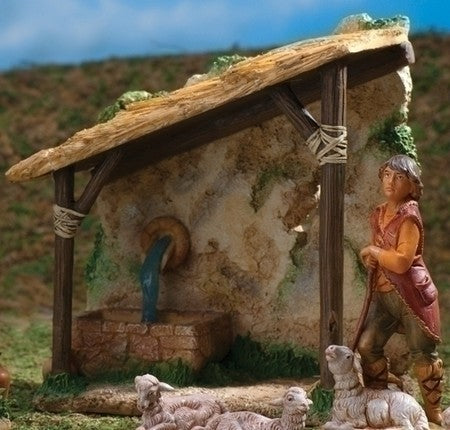 7-inch Shepherd'S Shelter Figurineure