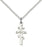 Sterling Silver Greek Orthadox Cross Necklace Set