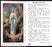 100-Pack - Our Lady Of Lourdes Prayer Card With Prayer