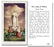 100-Pack - Our Lady Of Fatima Holy Card With Prayer