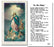 100-Pack - The Assumption With Prayer Holy Card