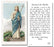 100-Pack - Saint Martha Holy Card With Novena Prayer
