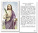 100-Pack - Saint Lucy With Prayer Holy Card