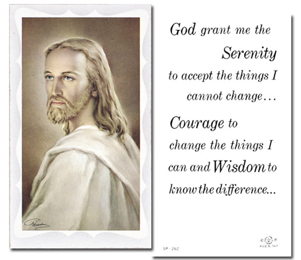100-Pack - Serenity Prayer Holy Card